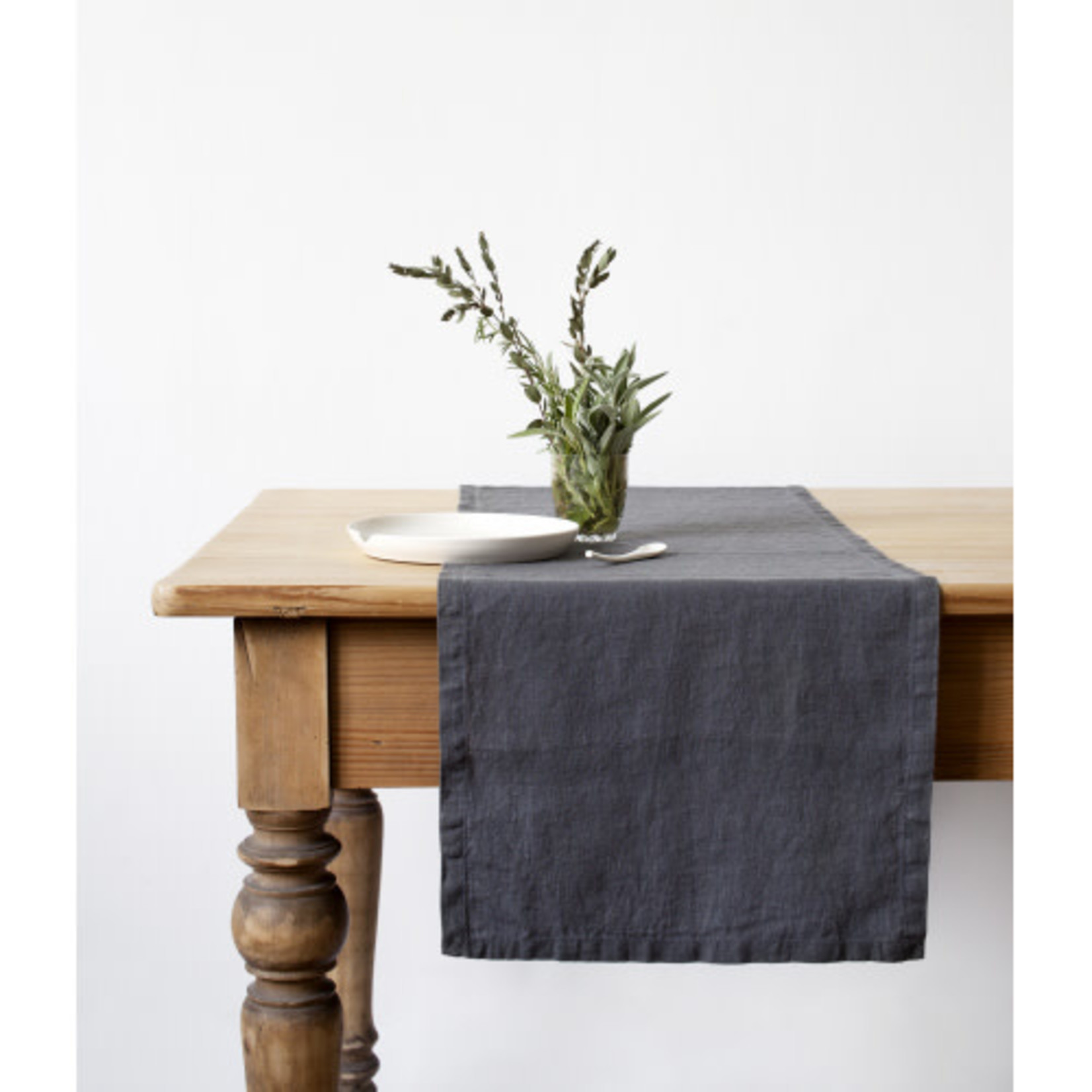 Dark Grey Table Runner