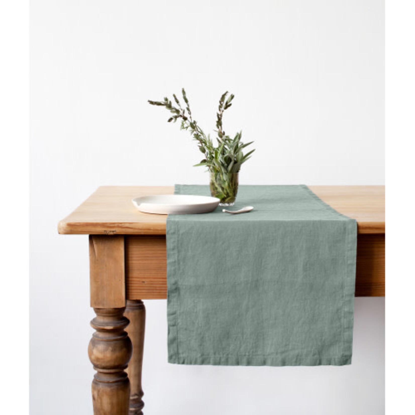 Green Milieu Table Runner