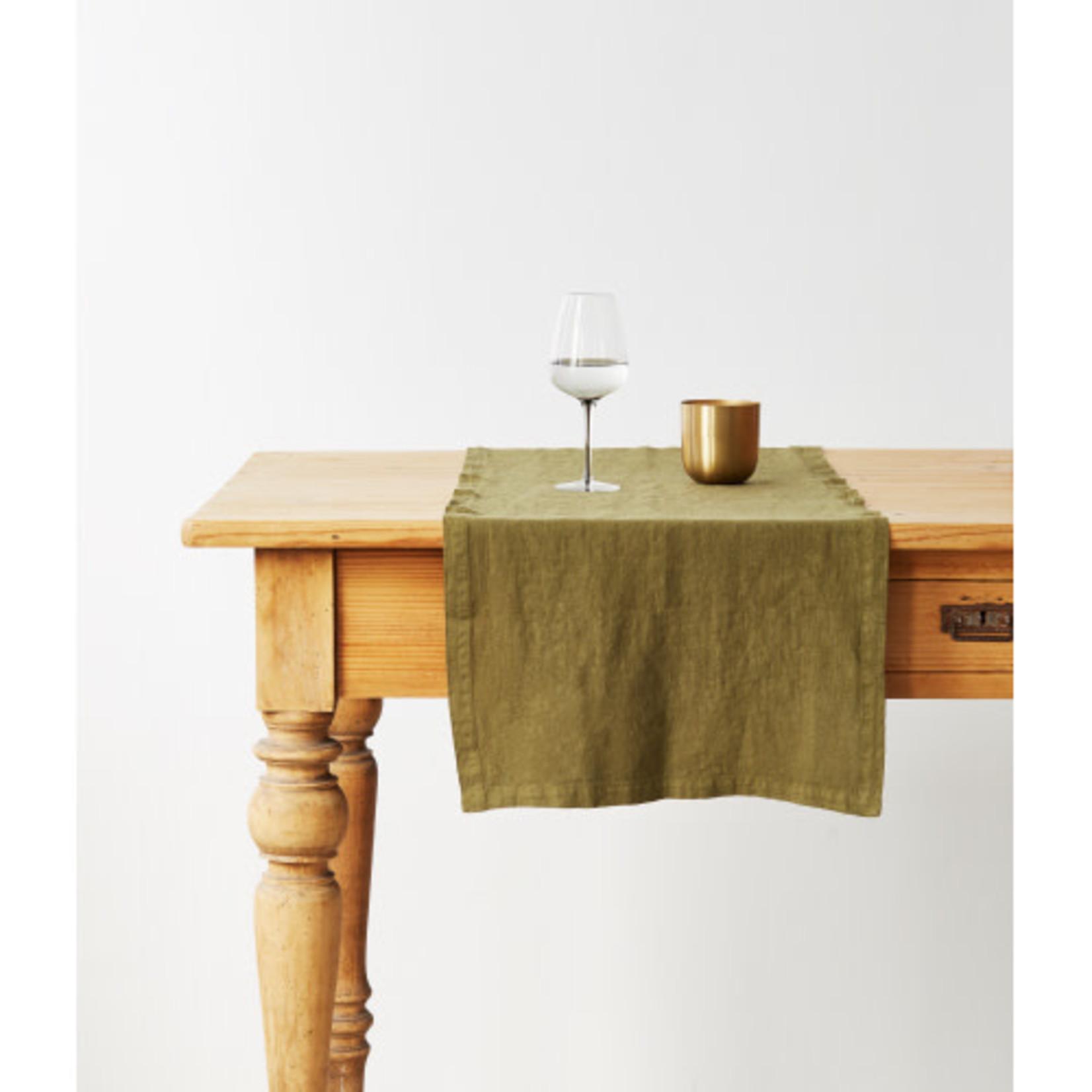 Martini Olive Table Runner