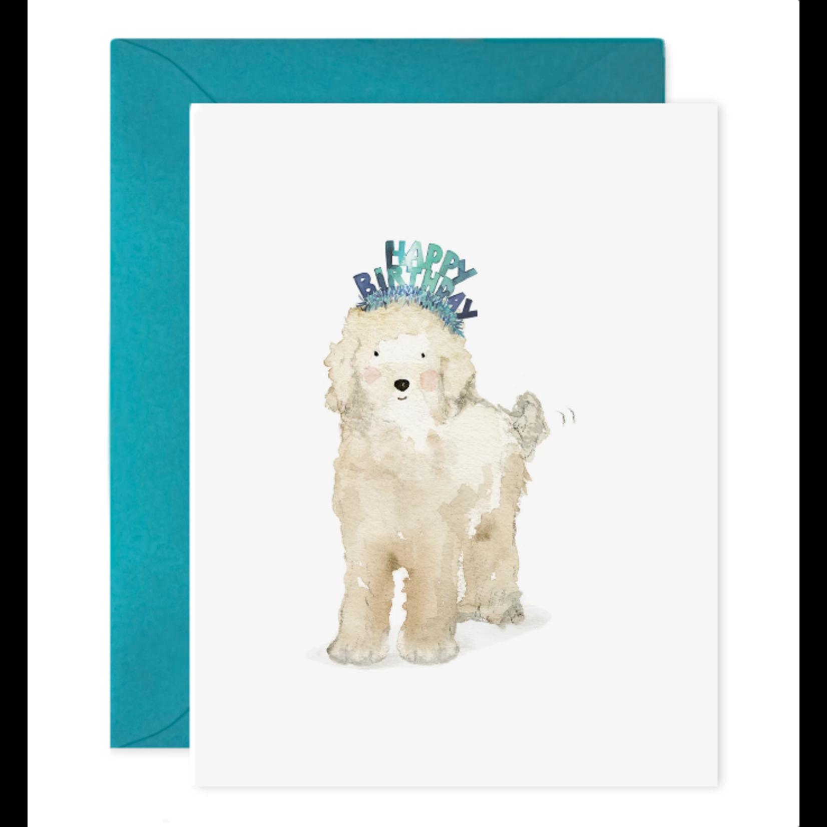 Lucky Dog Birthday Greeting Card