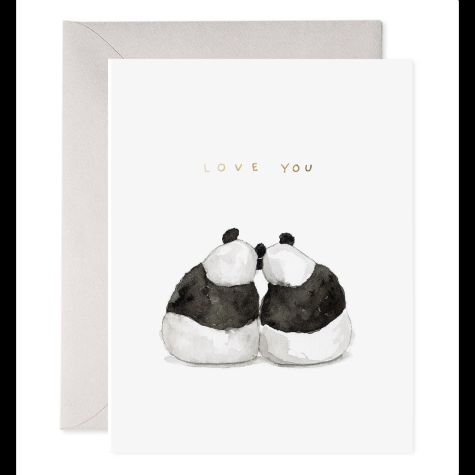 Panda Pair Greeting Card