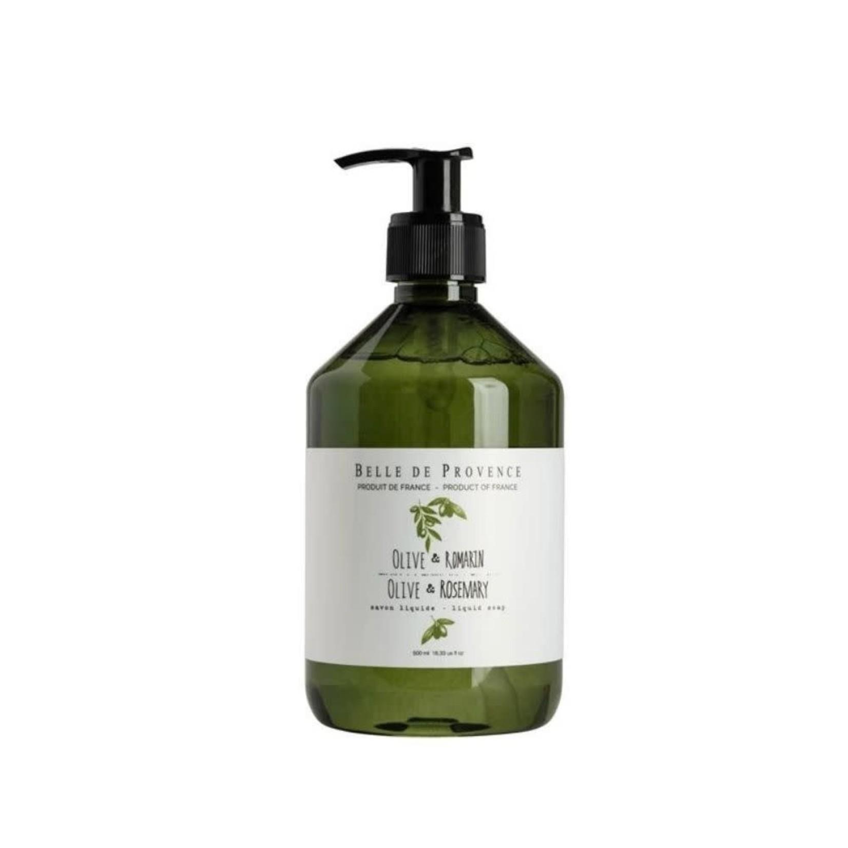 Olive & Rosemary, 500ml Liquid Soap