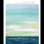 Sympathy Watercolour Greeting Card