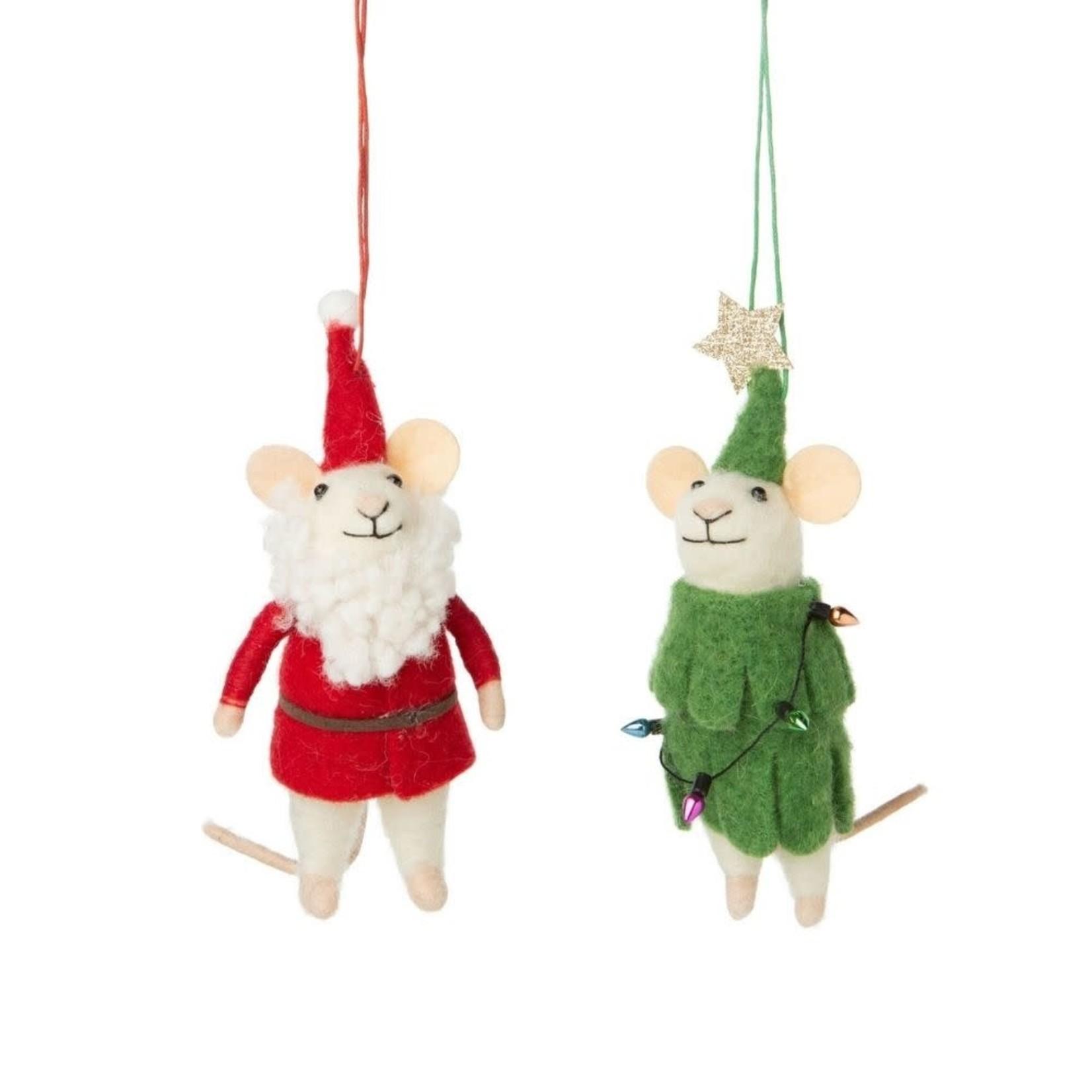 Christmas Mice Ornaments (Multiple Options)