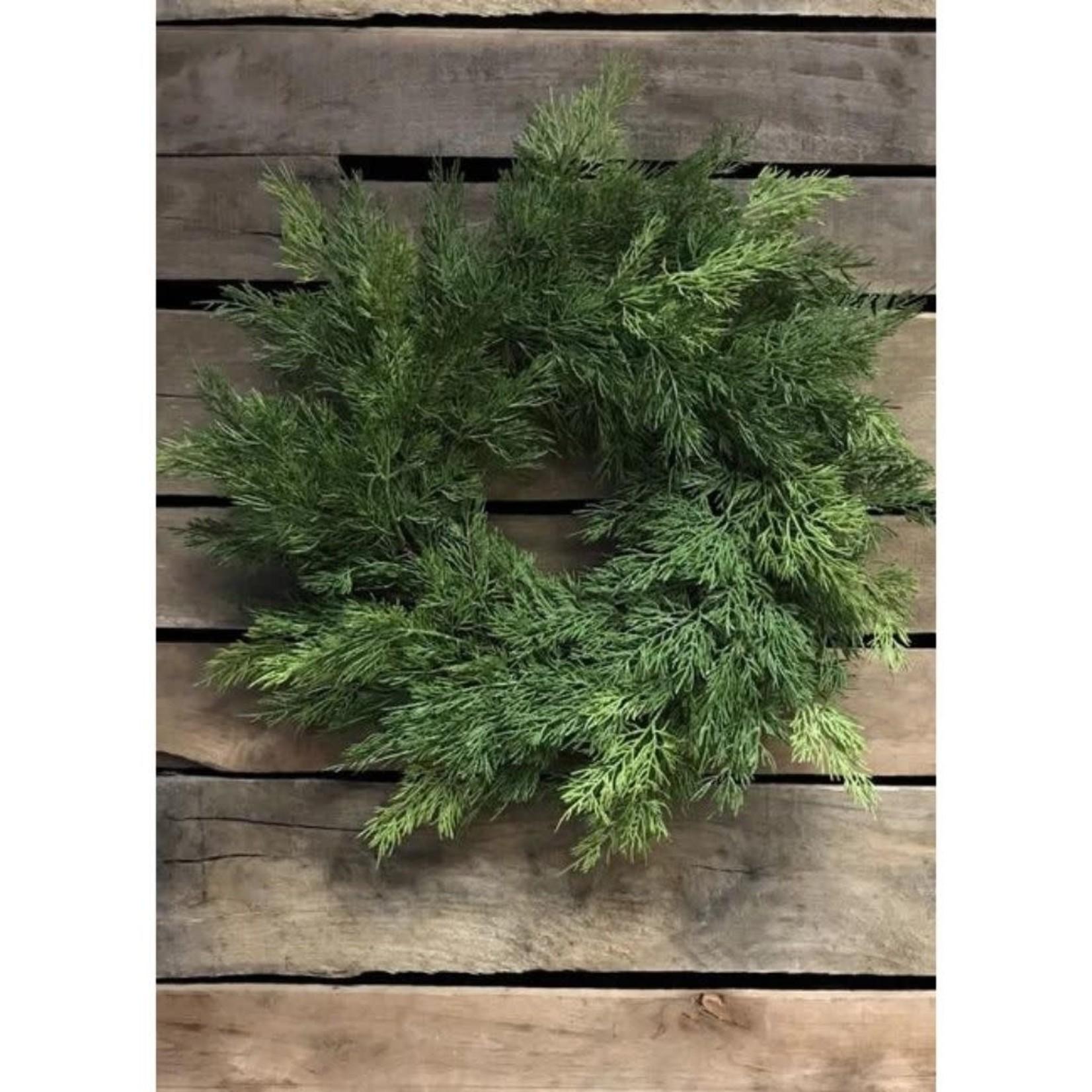 Fresh Touch Cedar Wreath Medium