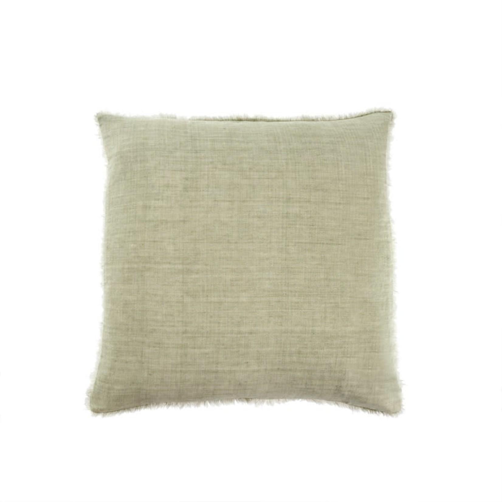 Lina Linen Pillow Olive