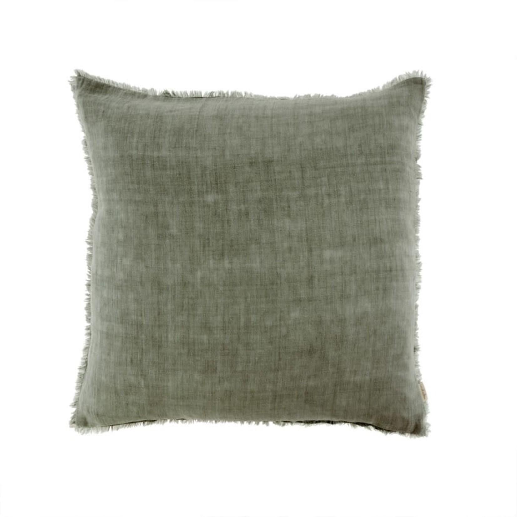 Lina Linen Pillow Shadow