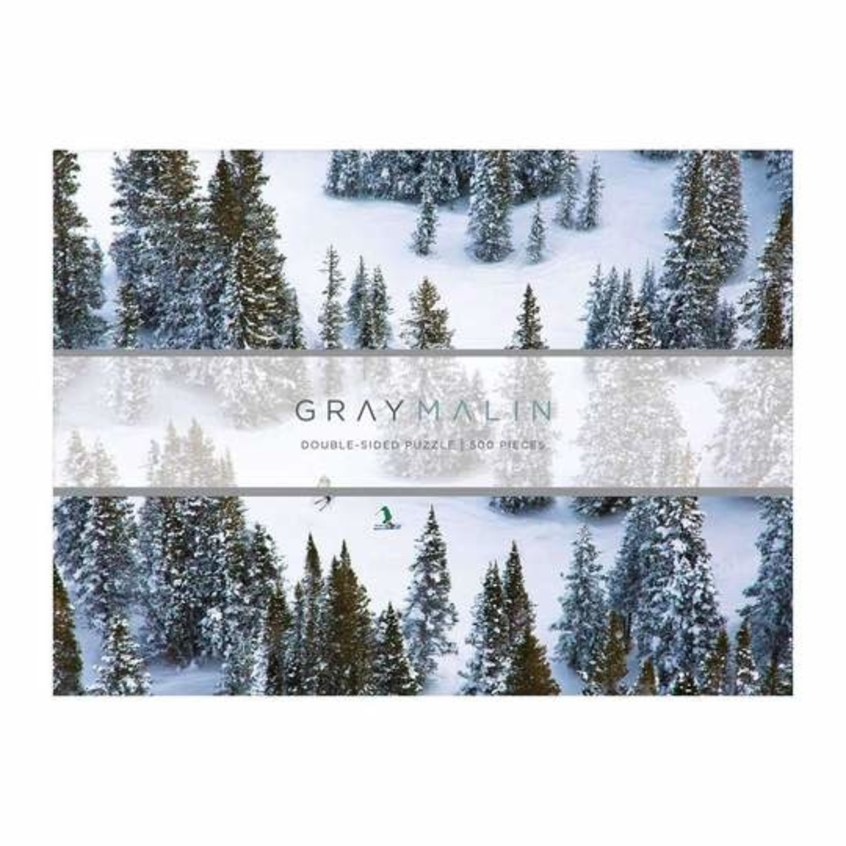 Gray Malin The Snow 2 Sided Puzzle