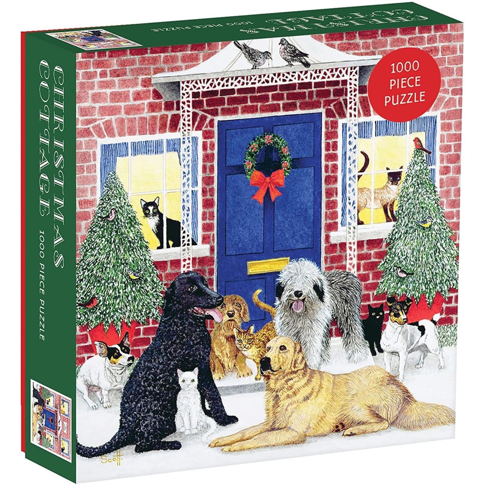 Christmas Cottage Square Puzzle