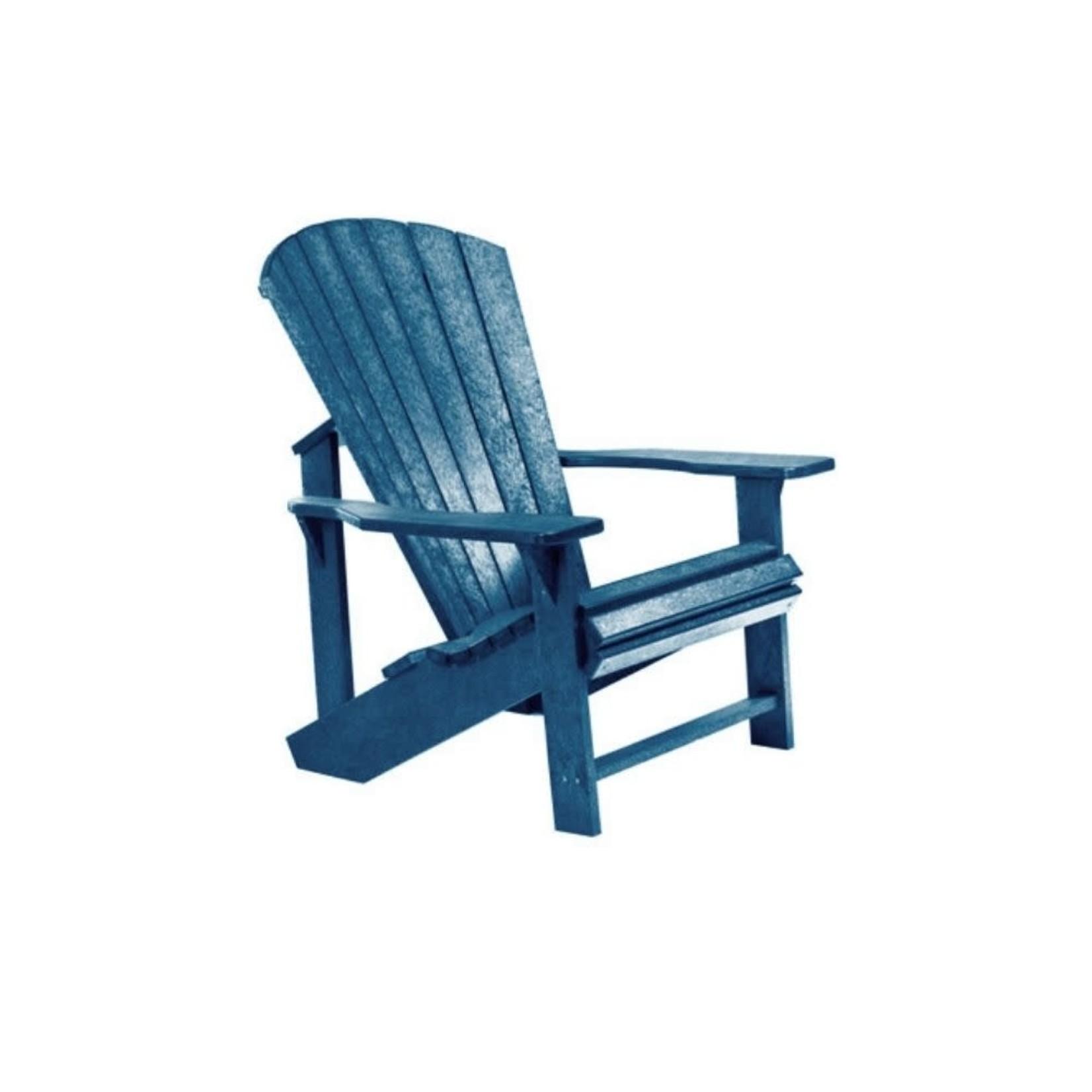 Classic Adirondack Chair Navy 20