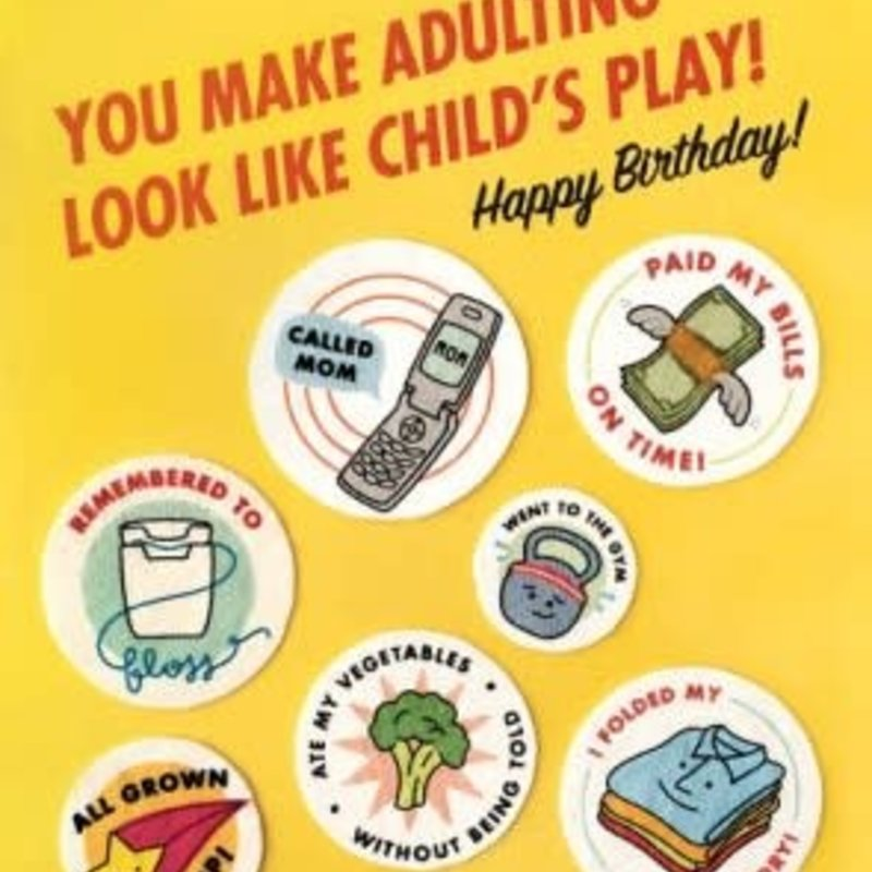 Adulting Birthday