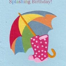 Greeting Card- Splashing Birthday (Rwanda)