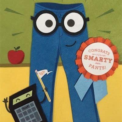 Congrats Smarty Pants
