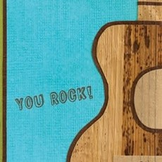 Greeting Card- Rock On (Rwanda)