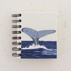 Notebook- Whale-Tail-Natural White-Small (Sri Lanka)