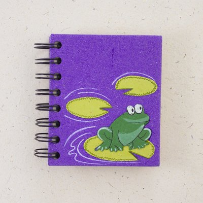 Notebook- Frog Purple-Small (Sri Lanka)