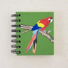 Notebook- Parrot- Dark Green-Small  (Sri Lanka)
