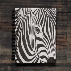 Notebook- Zebra Face-Large (Sri Lanka)