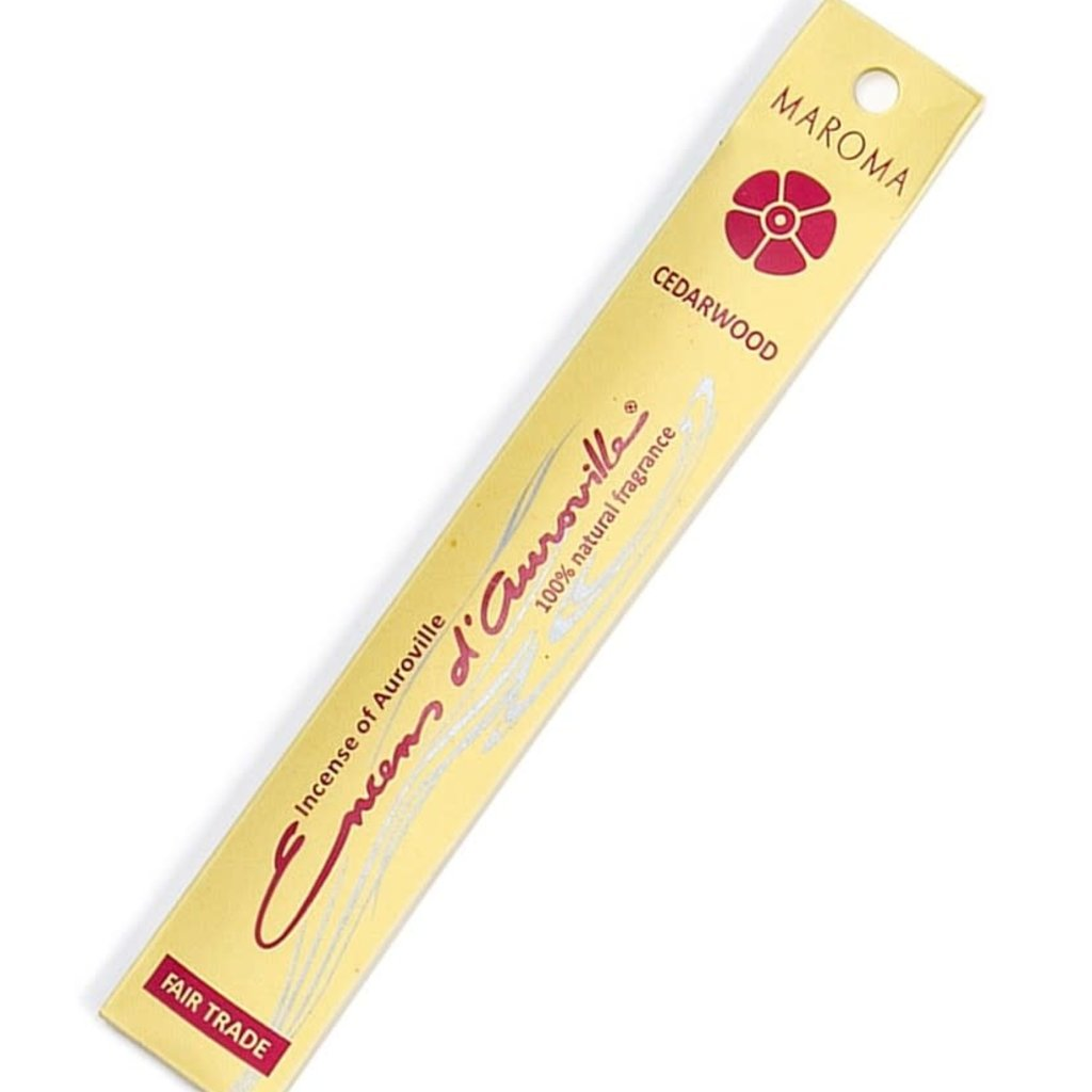 Incense- D'Auroville-Cedarwood (India)