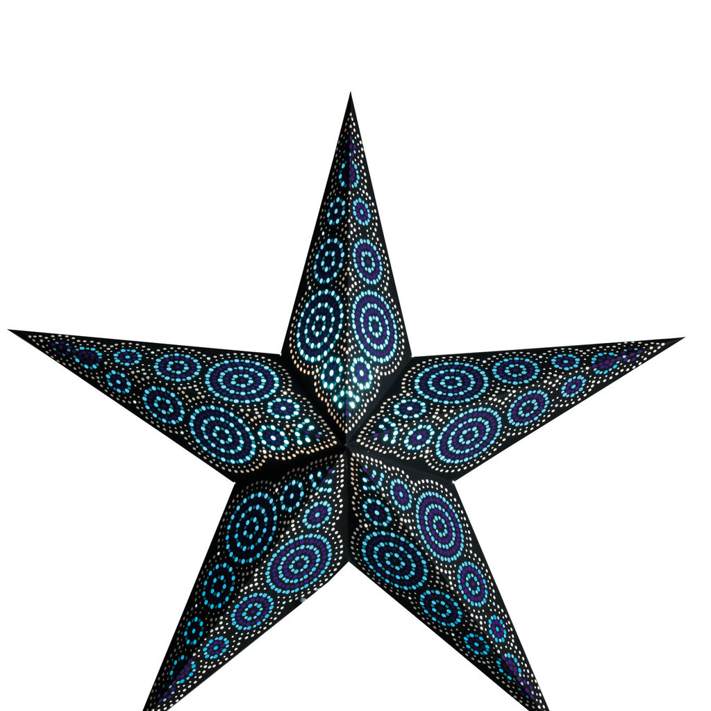 Starlightz- Marrakesh-Black/Turquoise (India)
