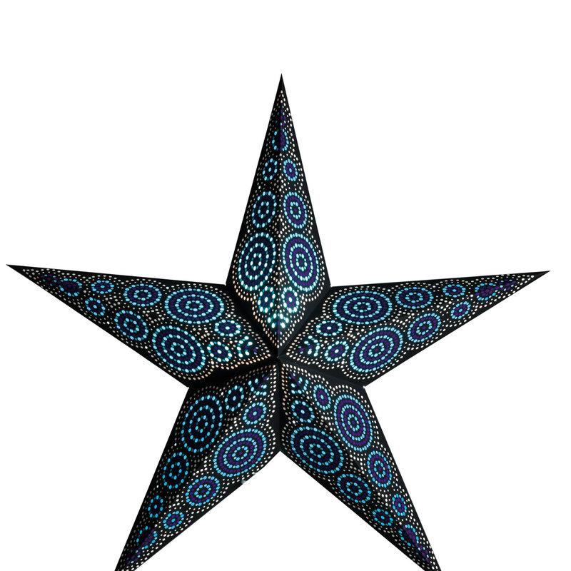 Starlightz- Marrakesh-Black/Turquoise (India)