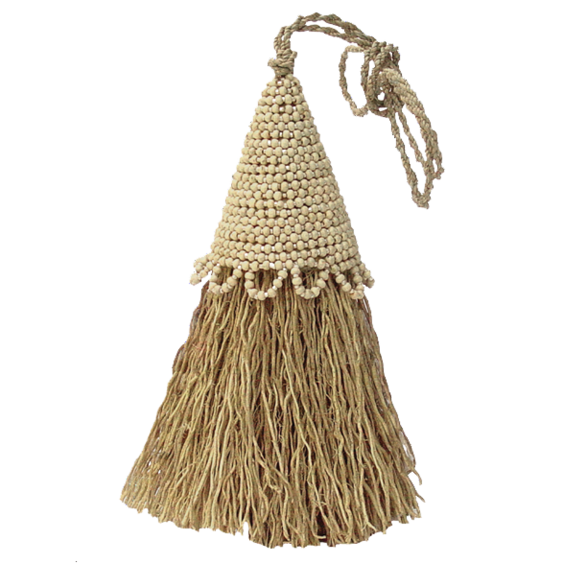 Tassel- Vetiver-Beaded-Cream (Indonesia)