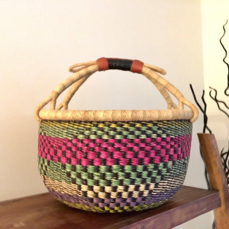 WS- Bolga Basket- Round-Large (Ghana)