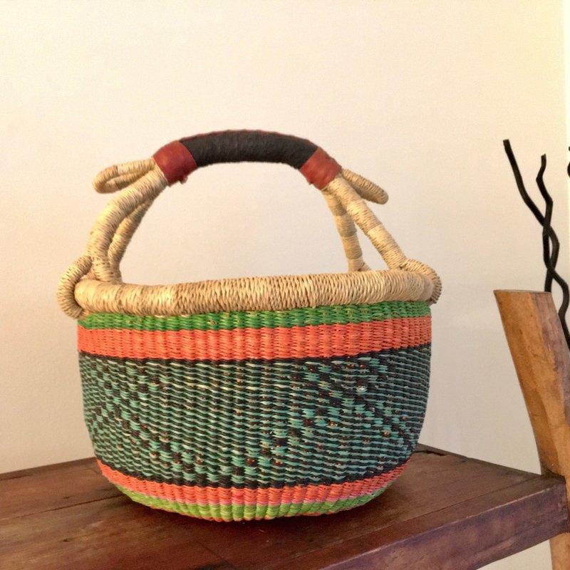 WS- Bolga Basket- Round-Medium (Ghana)