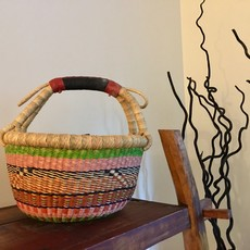 Bolga Basket- Round-Medium (Ghana)