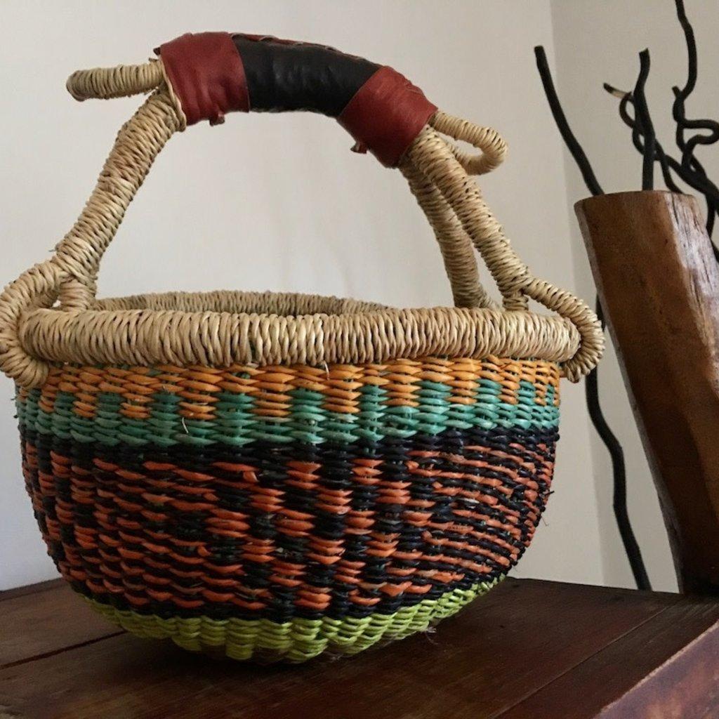 WS- Bolga Basket-Round-Extra-Small (Ghana)