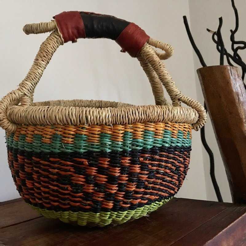 Bolga Basket-Round-Extra-Small (Ghana)