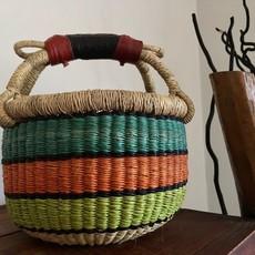 WS- Bolga Basket- Round-Extra-Small (Ghana)