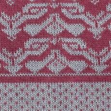 Beanie Hat-  Escher-Sangria-100% Baby Alpaca (Peru)