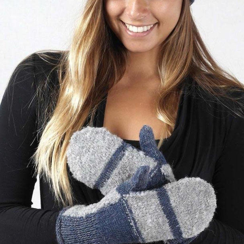 Gloves-  Patch-Royal-100% Alpaca (Peru)