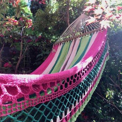 Hammock- Watermelon-100% Cotton (Nicaragua)