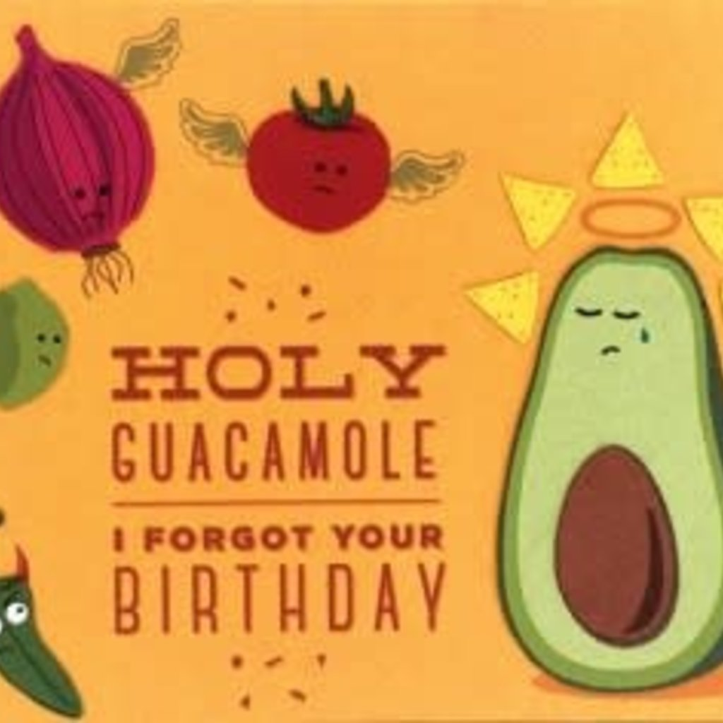 Greeting Card- Holy Guacamole Birthday (Philippines)