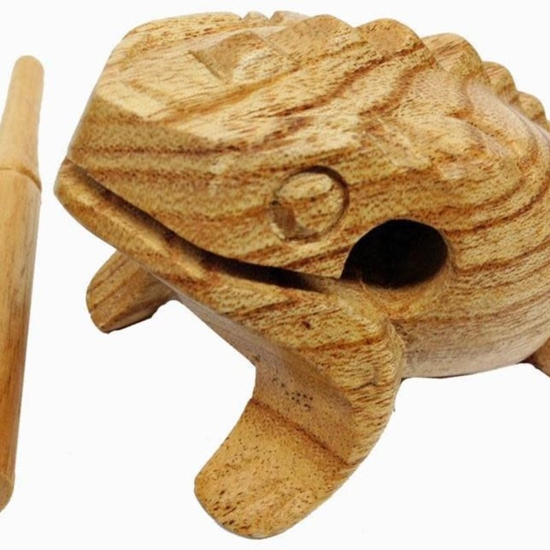 "Frog- Medium-4""-With Stick (Indonesia)"