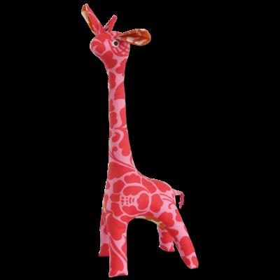 Giraffe- Patchwork-Scrappy-Pink-100% Cotton-Mama (Indonesia)