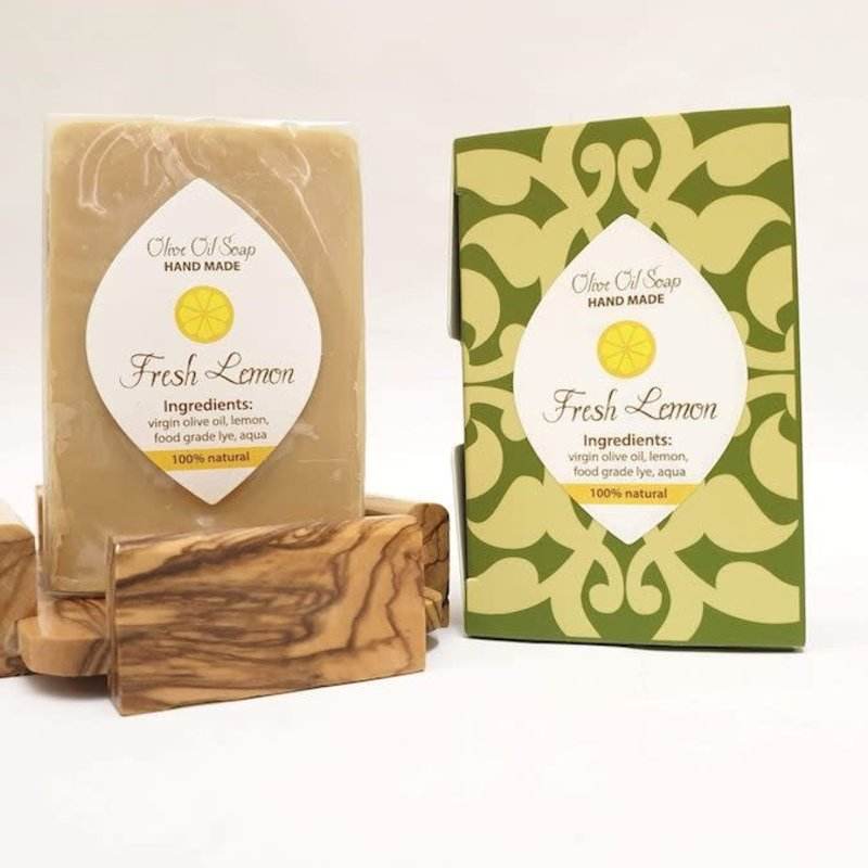Soap- Olive Oil-Lemon (Arab/Israel)