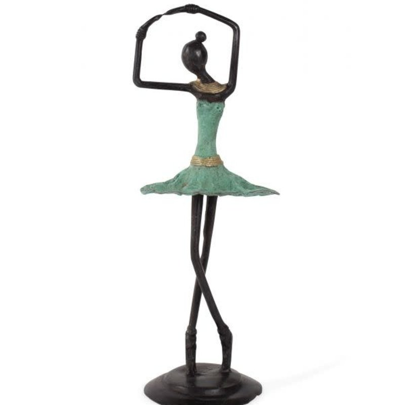 Sculpture- Ballerina-Bronze (Burkina Faso)