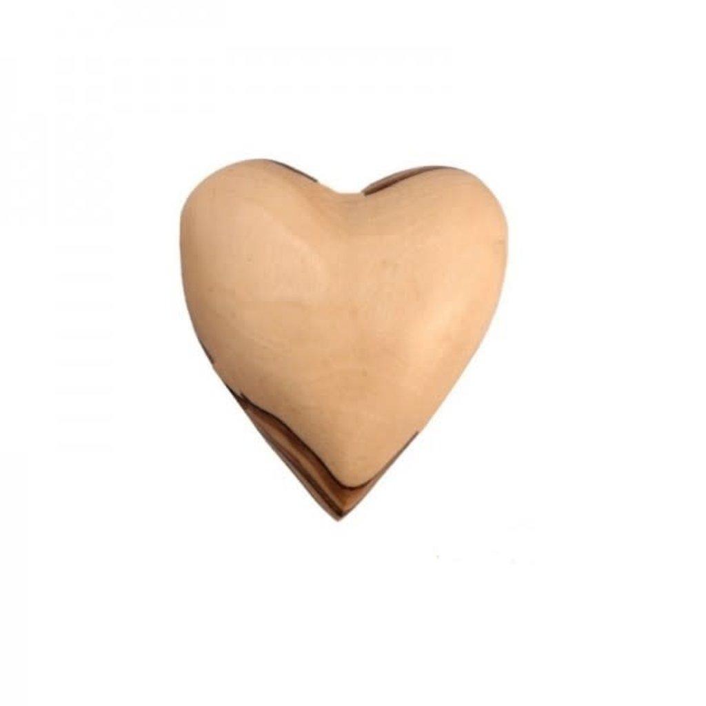 Heart- Olive Wood-Solid-Medium (Bethlehem)