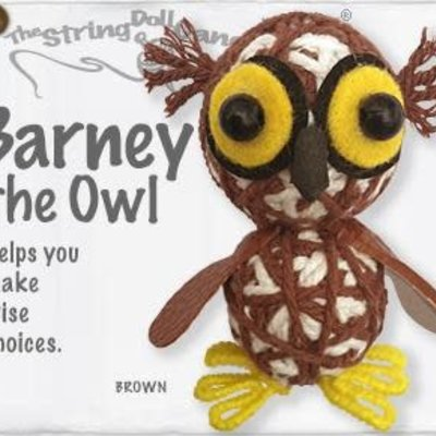 String Doll- Barney the Owl (Thailand)