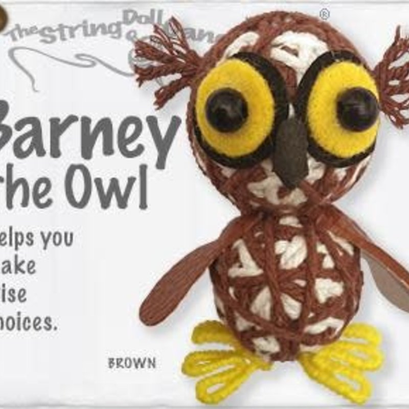 String Doll- Barney the Owl (Thailand)