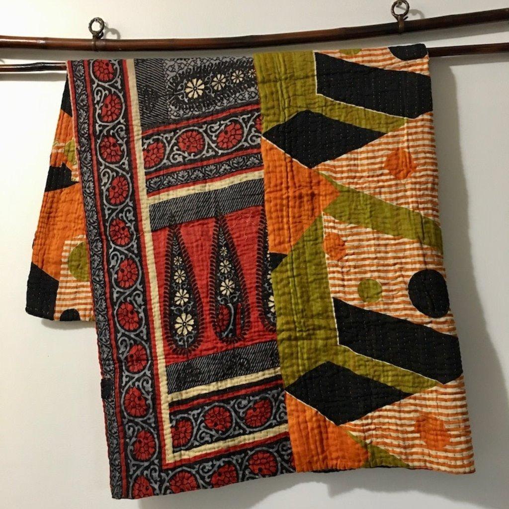 WS- Kantha Baby Blanket