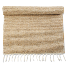 Bathmat  Vetiver-Natural with Fringe-Small (Indonesia)