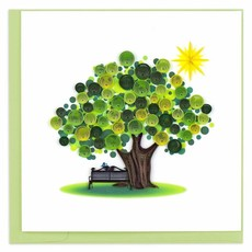 Quilling Cards- Summer Tree (Vietnam)
