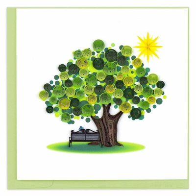 Quilling Cards- Summer Tree (Vietnam)