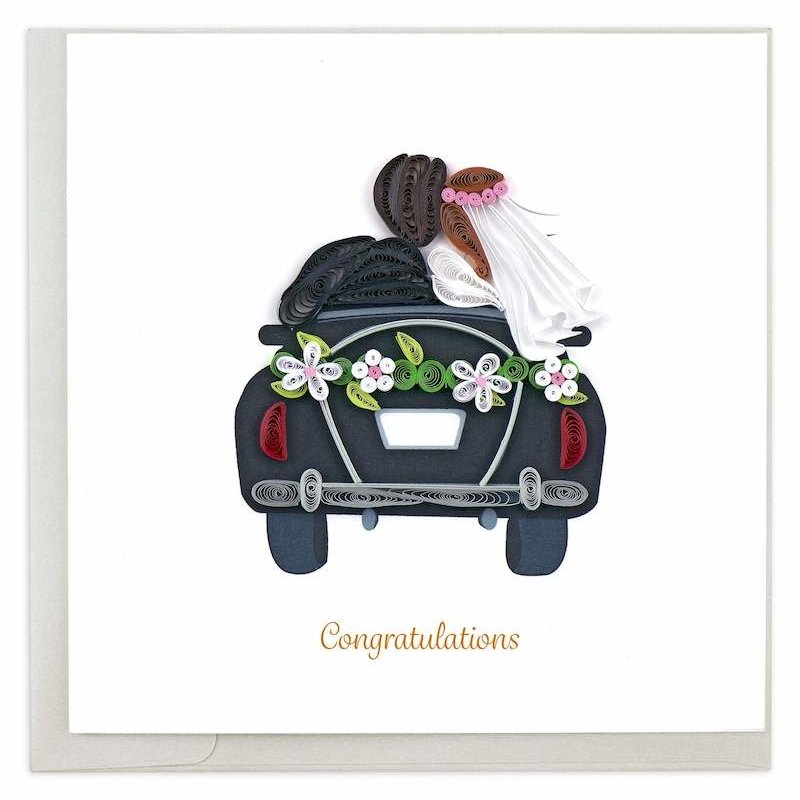 Quilling Cards- Just Married (Vietnam)