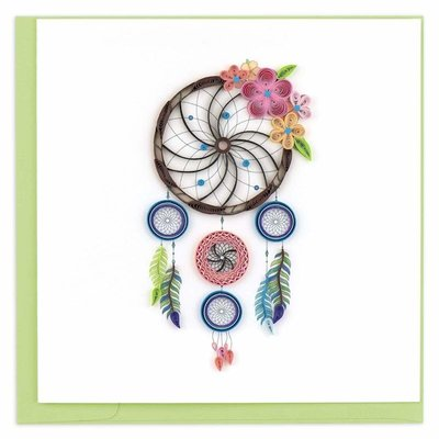 Quilling Cards- Dreamcatcher (Vietnam)
