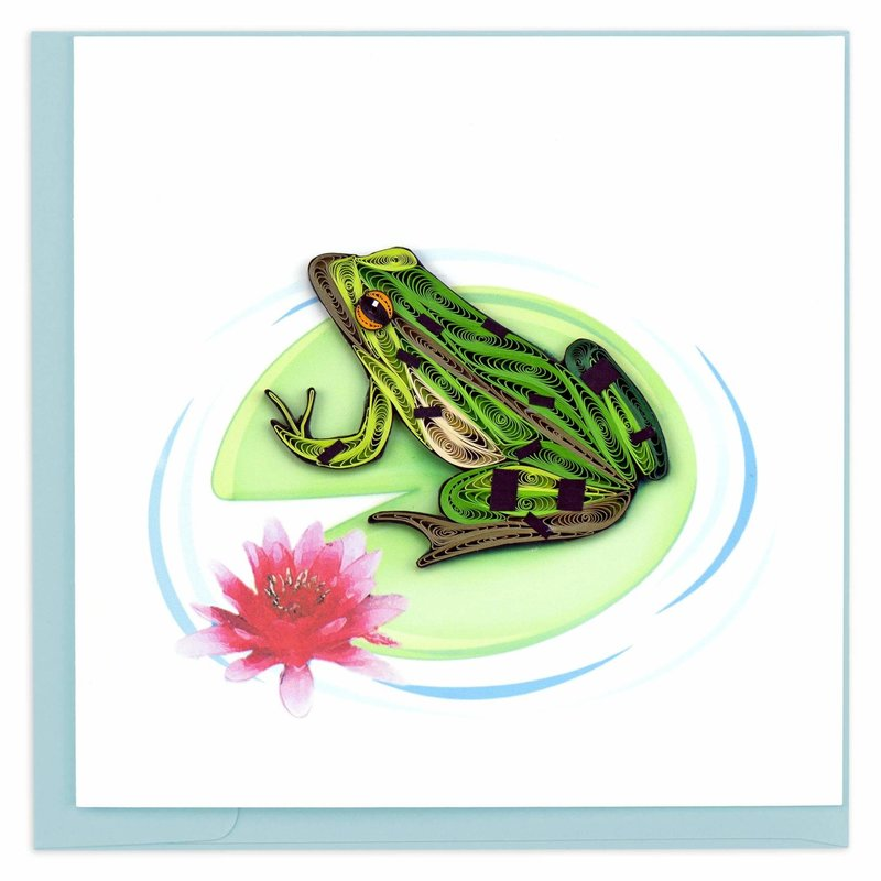 Quilling Cards- Frog (Vietnam)